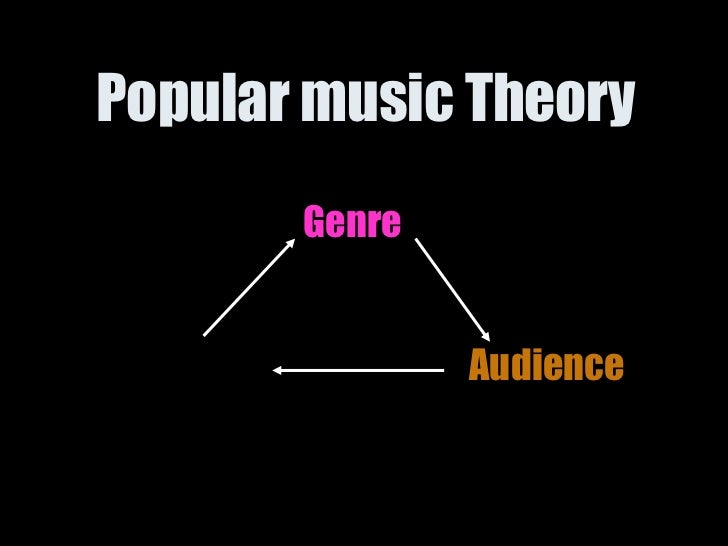 Popular music Theory   Genre Audience Text