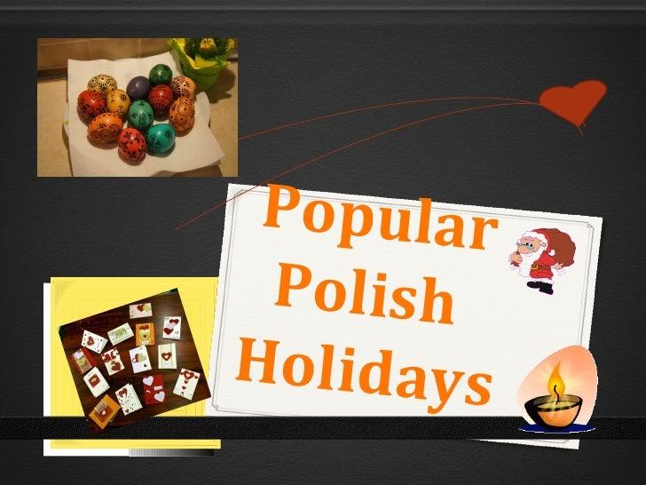 Popular PolishHolidays