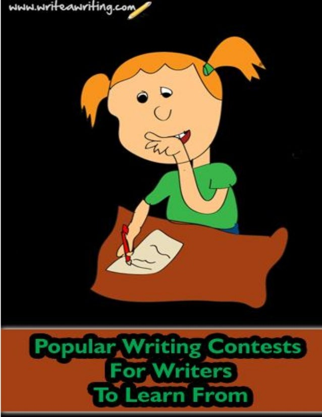 Popular writing contests for writers to learn from