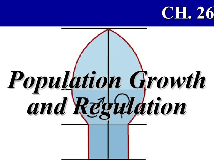 Population Growth and Regulation