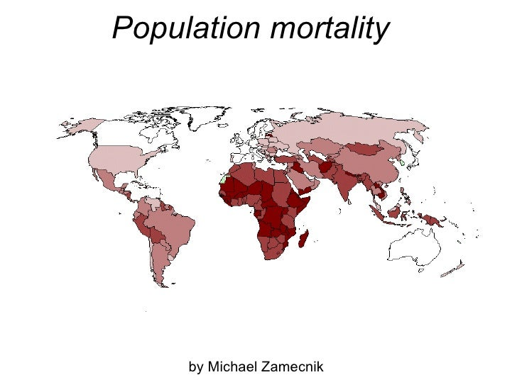 Population mortality by Michael Zamecnik