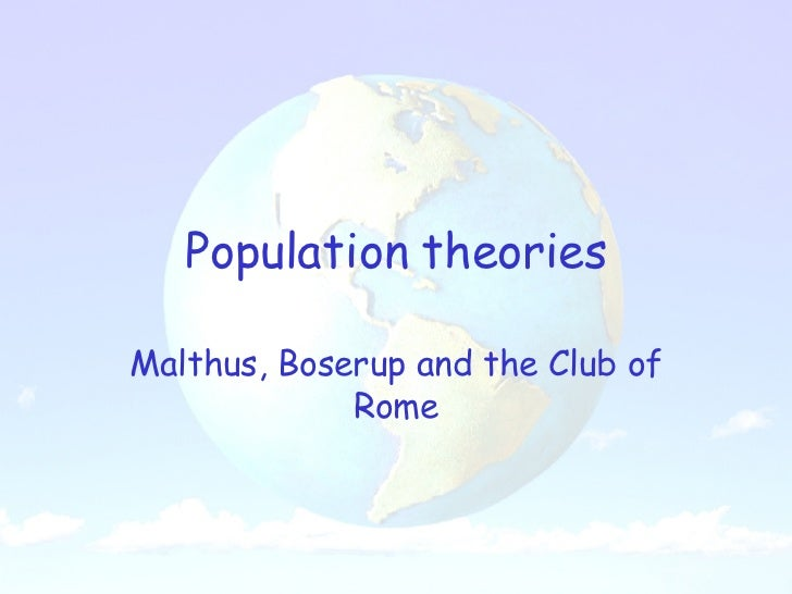 boserup thesis geography