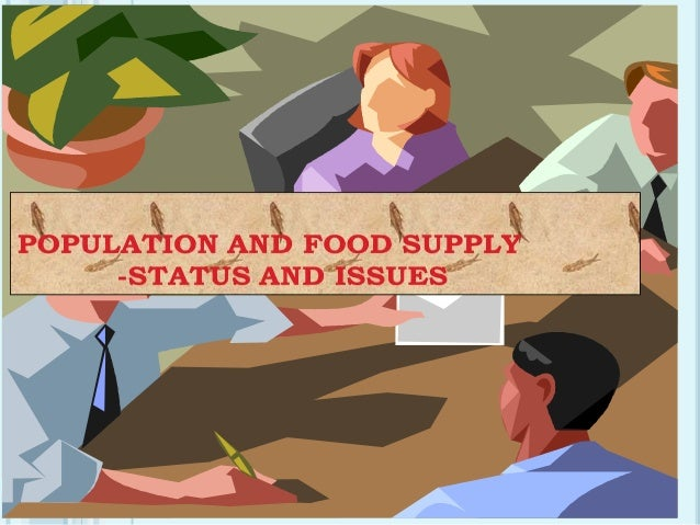 Population and food supply