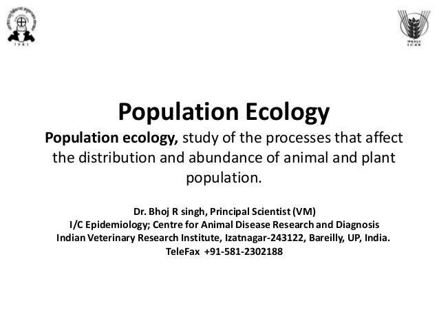 Population ecology for epidemiologists
