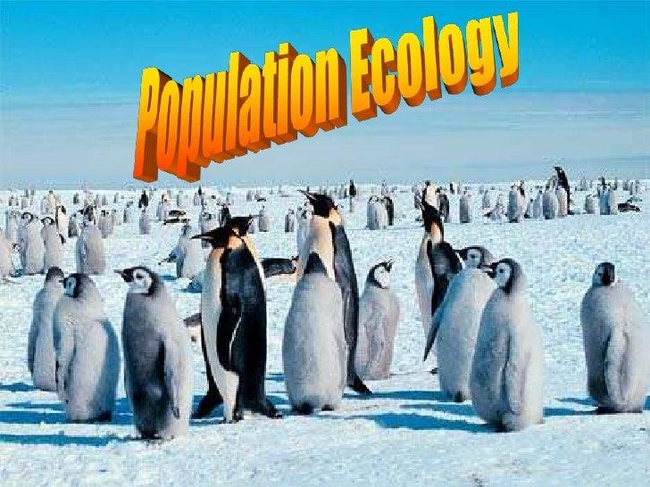 Population Ecology<br />