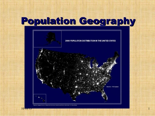 2013 Population Geography College HUG