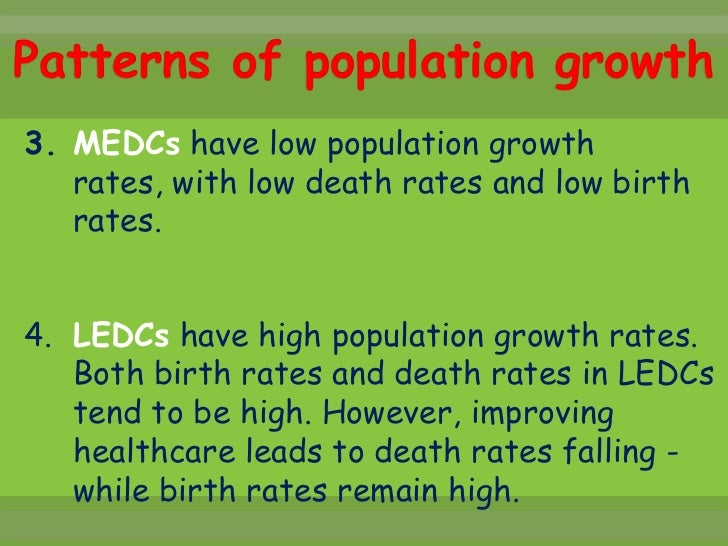 effects of rapid population growth The existing state of knowledge does not warrant any clear-cut generalization as to the effect of population growth on economic development in today's less developed areas some theoretical analyses argue that high population growth creates pressures on limited natural resources, reduces private and public capital formation, and diverts additions.