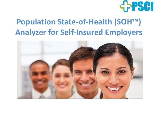 Population State-of-Health (SOH™) Analyzer for Self-Insured Employers