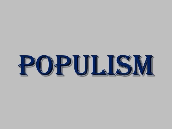Populist Revolt