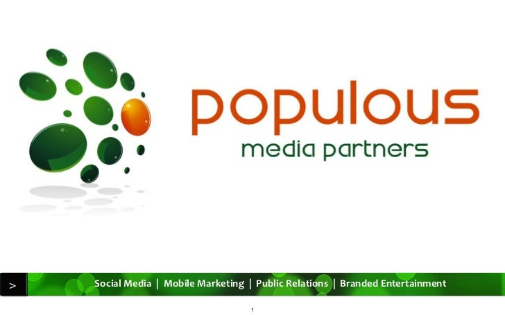 Populous Media Partners - Capabilities Presentation