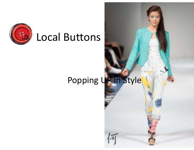 Local Buttons Popping UP in Style