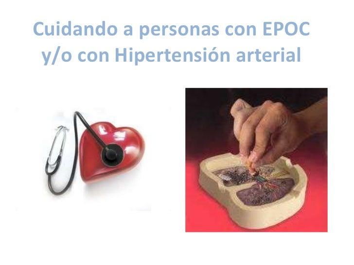 Cuidando a personas con EPOC y/o con Hipertensión arterial