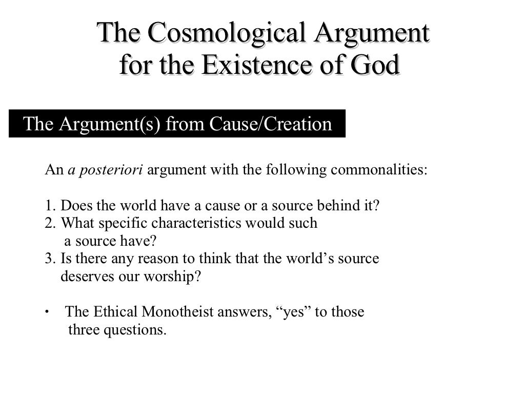descartes trademark argument for gods existence essay