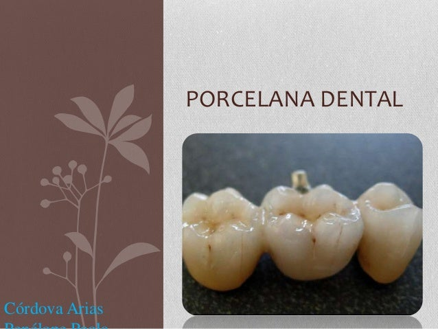 Porcelana dental