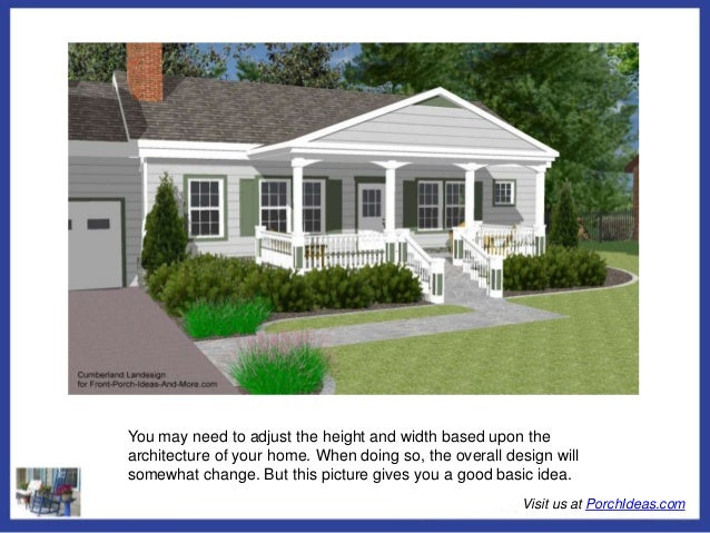 All about porch roof designs for Straight roof line house plans