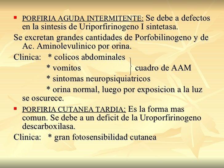 Porfiria intermitente aguda pdf