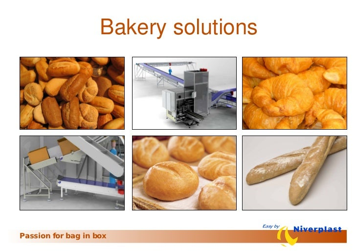 Bakery solutionsPassion for bag in box