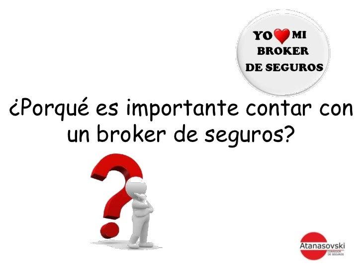 Brokers de seguros