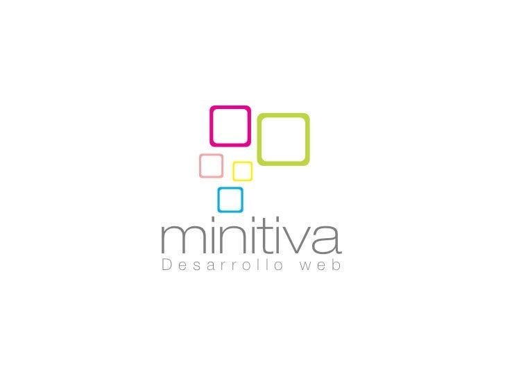 minitivaDesarrollo   web