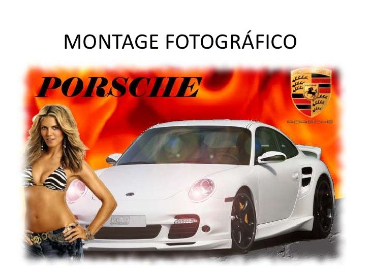 MONTAGE FOTOGRÁFICO<br />