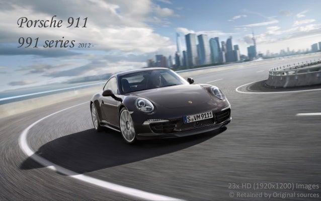 Introducing the New Porsche 911 (991 model) 2012 2013+
