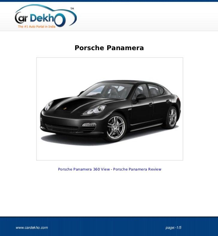 Porsche+Panamera+Images