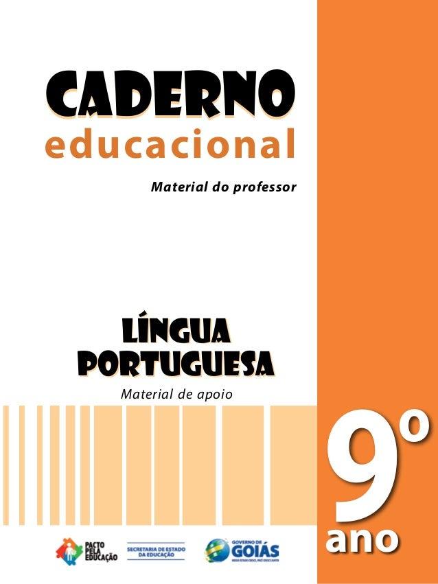 CadernoCaderno Material do professoreducacionaleducacional       Material do professor       Material do professor    LÍNG...