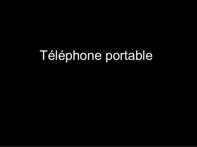 Téléphone portable