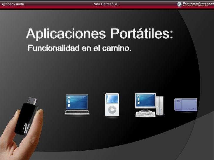 Portable Apps By @Nosoysanta