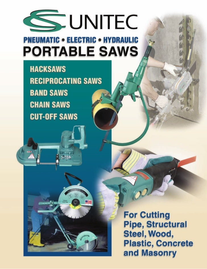 Portable Saws & Accessories                                Heavy-duty Saws… Fast, accurate cutting on the job site!SPECIAL...