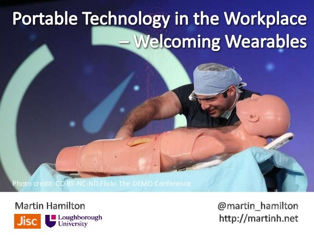 Portable Technology in the Workplace – Welcoming Wearables