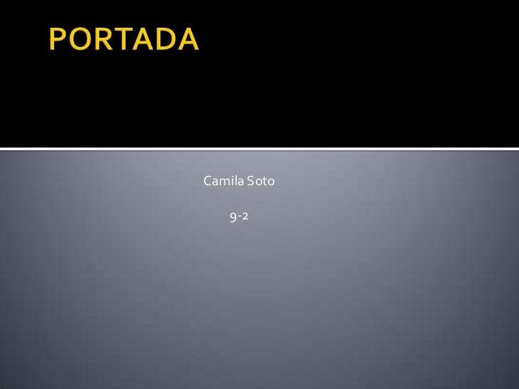 Camila Soto   9-2