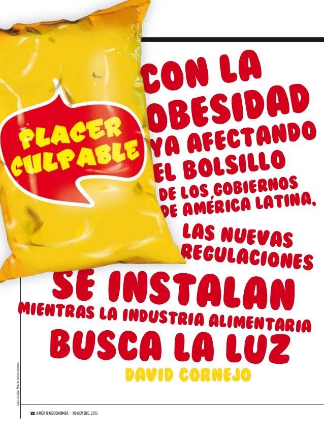 Placer culpable, América Economía Internacional noviembre 2013