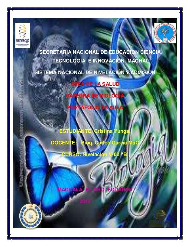 SECRETARIA NACIONAL DE EDUCACION CIENCIA, TECNOLOGIA E INNOVACIÓN. MACHAL SISTEMA NACIONAL DE NIVELACIÓN Y ADMISION AREA D...
