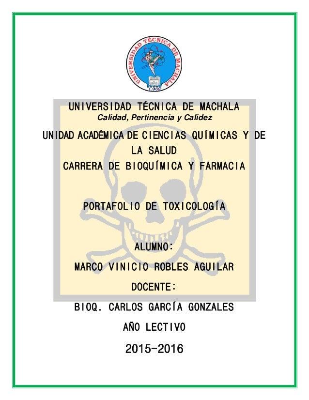 UNIVERSIDAD TÉCNICA DE MACHALA Calidad, Pertinencia y Calidez UNIDAD ACADÉMICA DE CIENCIAS QUÍMICAS Y DE LA SALUD CARRERA ...