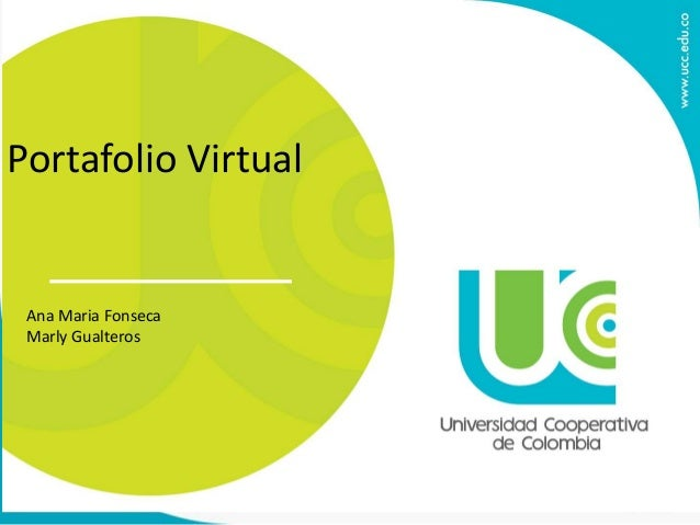 Portafolio Virtual Ana Maria Fonseca Marly Gualteros