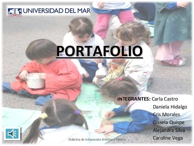 PORTAFOLIO                                        INTEGRANTES: Carla Castro                                               ...