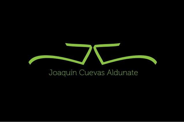 »EV/ x  Joaquín Cuevas Aldunate