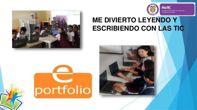 ME DIVIERTO LEYENDO Y ESCRIBIENDO CON LAS TIC