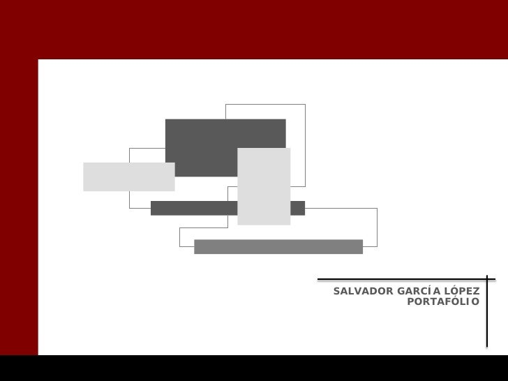 SALVADOR GARCÍA LÓPEZ           PORTAFÓLIO