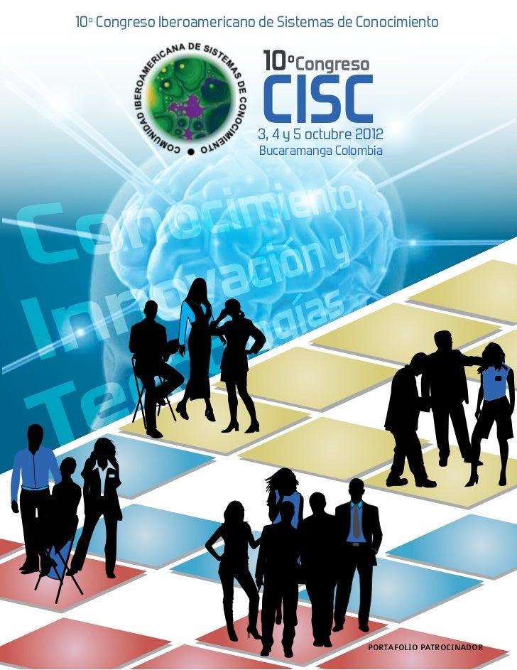 10º Congreso Iberoamericano de Sistemas de Conocimiento                            10ºCongreso                            ...