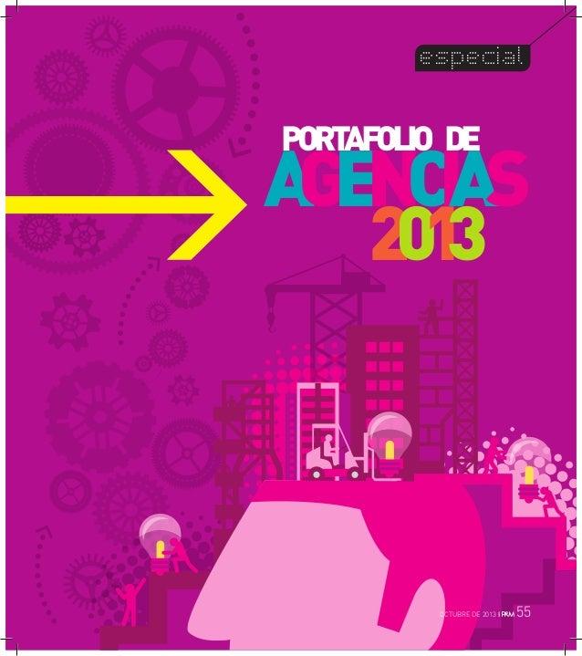 especial  PORT AFOLIO DE  A GENCIAS 201 3  OCTUBRE DE 2013 I  55