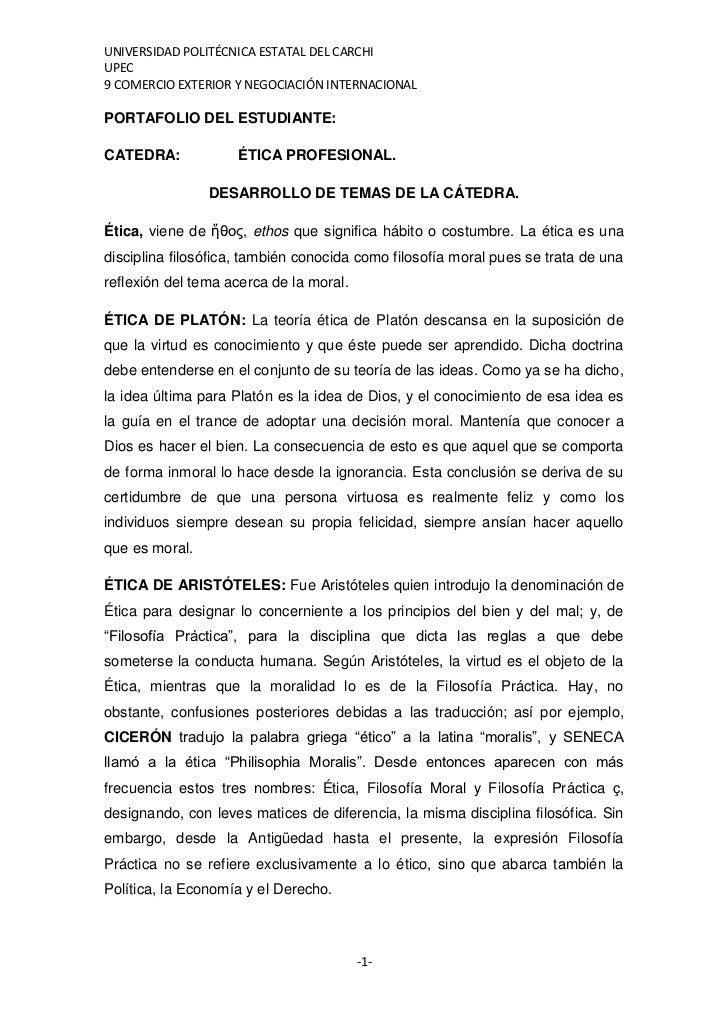 UNIVERSIDAD POLITÉCNICA ESTATAL DEL CARCHIUPEC9 COMERCIO EXTERIOR Y NEGOCIACIÓN INTERNACIONALPORTAFOLIO DEL ESTUDIANTE:CAT...