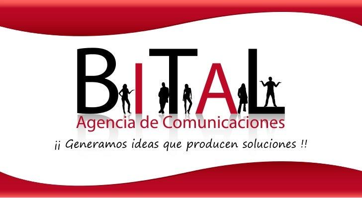 os                           Quiénes somSomos una agencia de comunicaciones BTL que genera nuevas ideasy conceptos publici...
