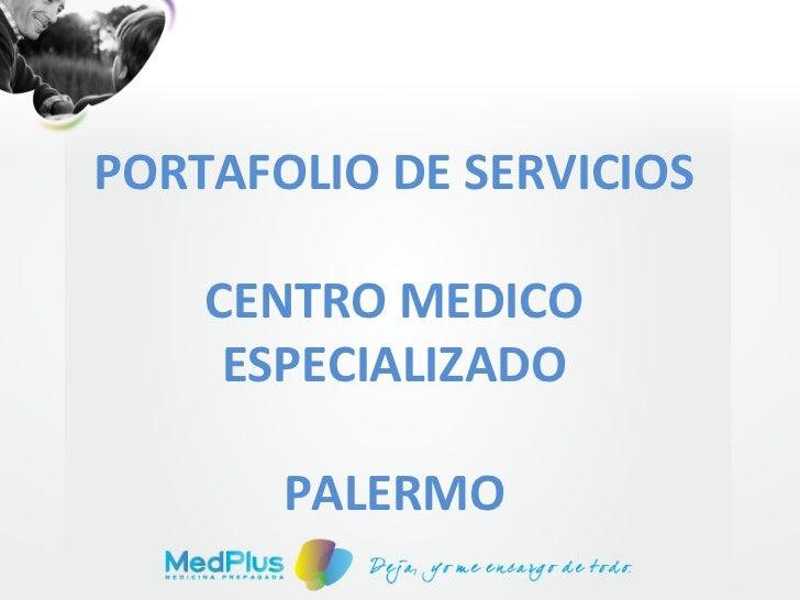 Portafolio de servicios med plus palermo
