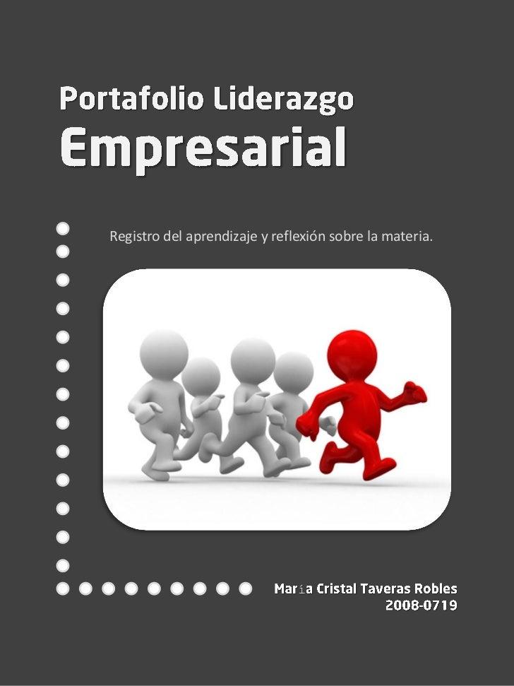 Portafolio Liderazgo Empresarial