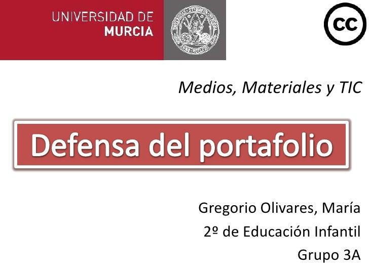 Portafolio Defensa Medios, Materiales y TIC