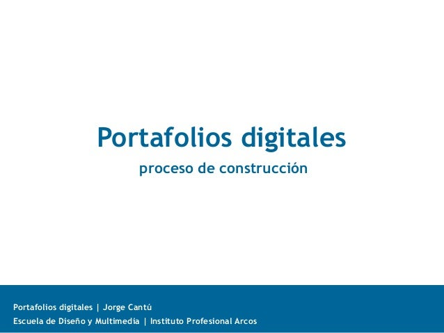 Portafolio (proceso de construcción)