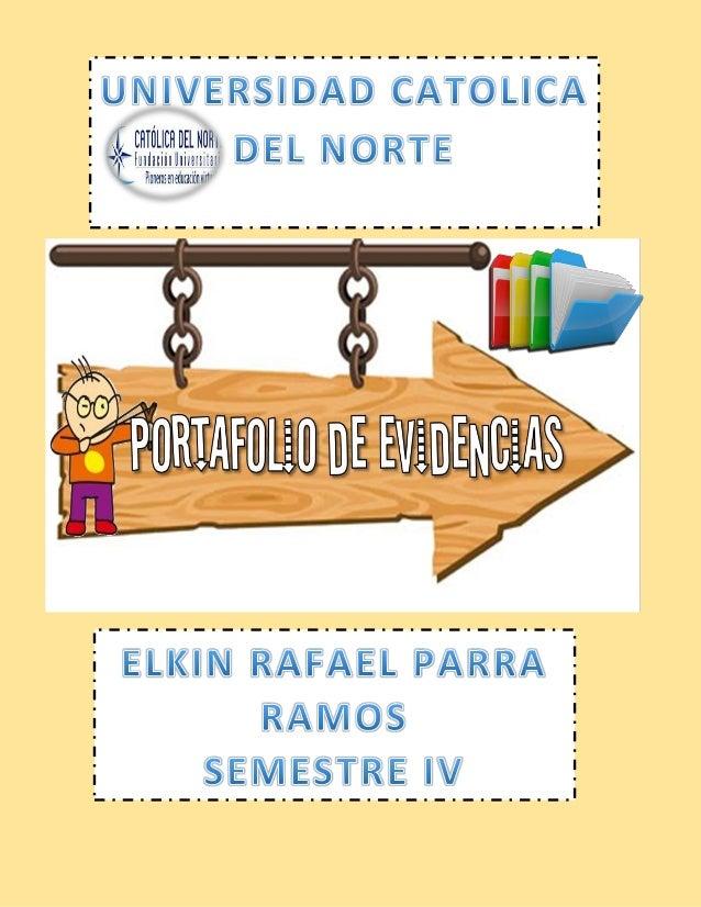 """DATOS PERSONALES """"Gracias a Dios y a la Universidad Católica del Norte por esta oportunidad de superación"""". NOMBRE: Elkin ..."""