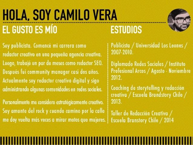 Social Media Freelance - Camilo Vera.